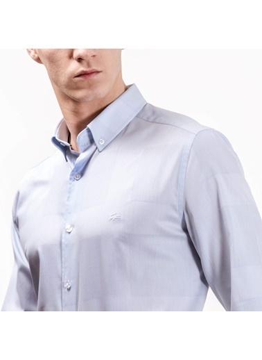 Uzun Kollu Klasik Gömlek-Lacoste